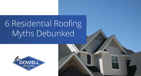 new roof, Dowell Roofing, Murfreesboro Roofers
