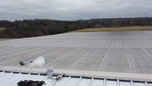 commercial metal roof, Dowell Roofing, Murfreesboro Roofers