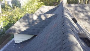 roof ridge, Dowell Roofing, Murfreesboro Roofers