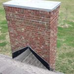roof joining with chimney, Dowell Roofing, Murfreesboro Roofers
