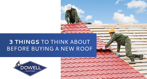 red roof installation, Dowell Roofing, Murfreesboro Roofers
