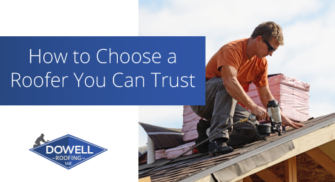 trustworthy roofers, Dowell Roofing, Murfreesboro Roofers