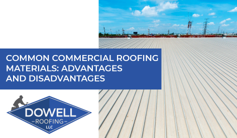 commercial roof, Dowell Roofing, Murfreesboro Roofers