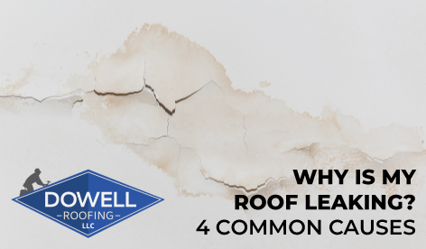 water stains on ceiling, Dowell Roofing, Murfreesboro Roofers