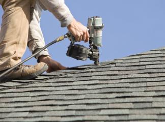 nail gunning shingles, Dowell Roofing, Murfreesboro Roofers